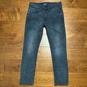 designer EXPRESS black skinny jeans ★ 31W x  30L
